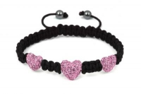 CB3 Heart baby pink crystal