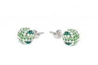 ECUJ11 Emerald white and peridot crystal earrings.jpg