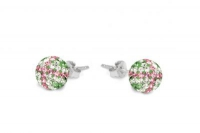 ECUJ11 Peridot white and baby pink crystal earrings.jpg