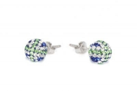ECUJ11 Sapphire white and peridot crystal earrings.jpg