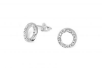 EP010 White crystal 10mm circular earrings.jpg