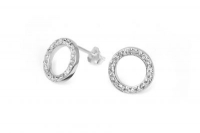 EP012 White crystal 12mm circular earrings.jpg