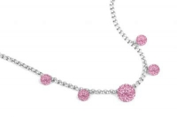 NLC0080 Baby pink 42cm necklace with extension chain.jpg