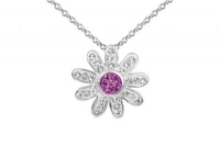 PF015 15mm Amethyst crystal flower pendant with silver fittings.jpg