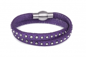 br056-dark-purple-double-bracelet