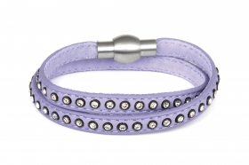 br056-light-purple-double-bracelet