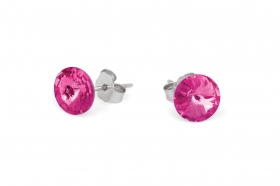 es-round-round-dark-pink-crystal-earrings