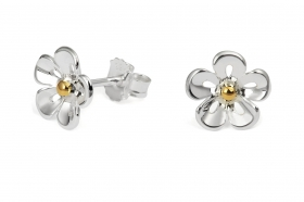 TP5820 GP Daisy 10mm Earrings
