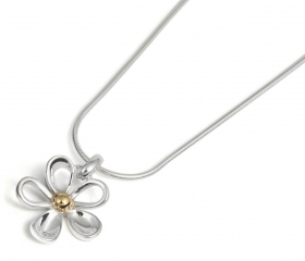 TP7304 GP Daisy 15mm Pendant